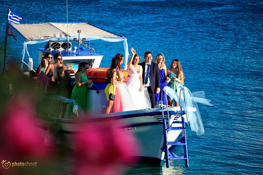 φωτογραφιση γαμου στην Μυκονο
