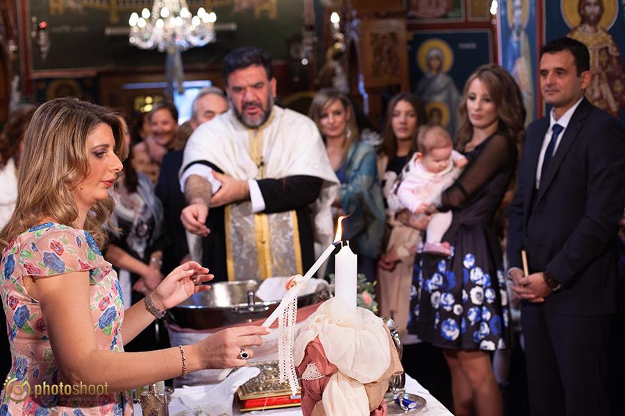 φωτογραφηση βαπτισης στην Αγια Μαρινα Εκαλης